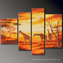 Wall Painting Colour Ink Landscape Oil Painting