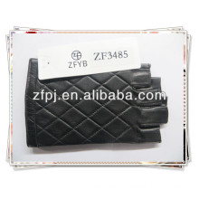 high quality wholsale driving leather gloves without fingers