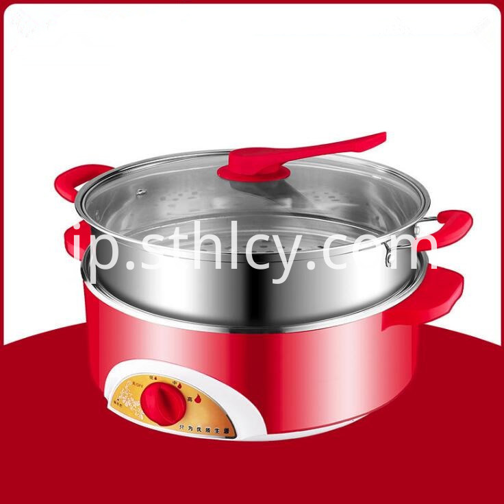 Electric Cooker Stainless Steel Pot