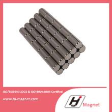 Fritté de terre Rare Permanent cylindre Chine aimant de NdFeB fabricant de haute qualité