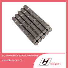 Sintered Rare Earth Permanent Cylinder China NdFeB Magnet Manufacturer with High Quality