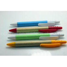 Promotional Paper Pen Plastic Clip for Office Supply
