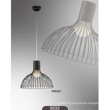 Elegant Contemporary Glass Chrome Pendant Llight (P6533-1)