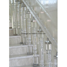 Verre verre/main courante escalier/verre/verre de décoration pilier