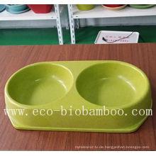 Biologisch abbaubare Bambusfaser Pet Supply Bowl (BC-PE6004)