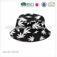 custom all over printing cotton fishing hat