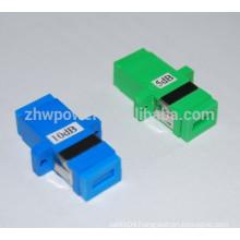 3dB 5dB 7dB 10dB 15dB 20dB SC PC UPC adapter type fiber optic attenuator