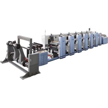 Máquina de impressão Flexo de alta velocidade de 6 cores