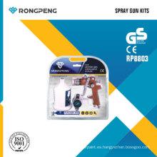 Kits de pistola de pulverización Rongpeng R8803 HVLP