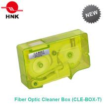 Boîte de nettoyage en fibre optique pour les applications de coût de nettoyage faible