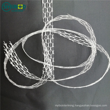 High Quality PA Mesh Non Woven Fusible Net Adhesive Cutting Tape Rolls for Bonding Clothing