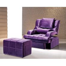 Cadeira de sauna roxa para móveis de hotel