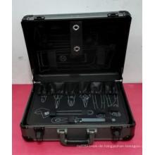 Kundengerechte professionelle Aluminiumlegierung ABS Handwerkzeug-Satz-Kasten