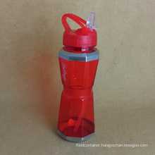 PC Water Bottle with Straw, Sports Water Bottle