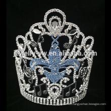 Corona plástica de la princesa de la tiara del corazón de la boda