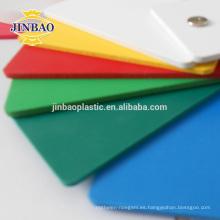 Tablero de la muestra de la espuma de Foamex de la hoja del PVC de la espuma negra de JINBAO 3m m