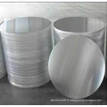 Disque en aluminium 3003 (pour dessin en profondeur et anodisation)