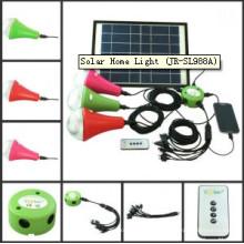 2015 nuevo paquete portable fácil tomar lámpara que acampa solar (JR-SL988 serie)