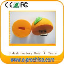 Venta caliente de dibujos animados colorido alimentos Open-Design USB Flash Drive para muestra gratis