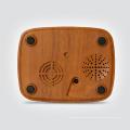 Рождественский Декор ночного 2018 диктора Bluetooth света Отражетеля Ароматности выдающийся дизайн масло диффузор древесины зерна 300 мл увлажнитель