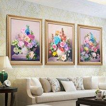 Kit de bordado de cinta Flores de Europa en florero