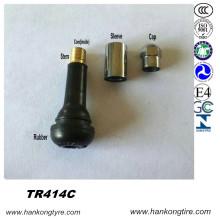 Válvula Tr414c, Válvula de Neumáticos, Válvula de Snap-in