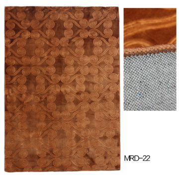 Polyester Wall to Wall Carpet avec gaufrage