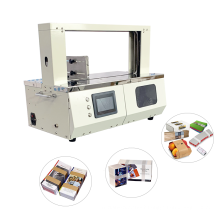 Currency Strapping Currency Bundling Machine Banknote Banding Machine Bundle Machine