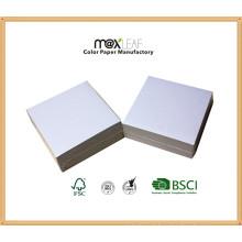85 * 85 * 30mm White Memo Pad / Papel Bonito / Cubo de papel