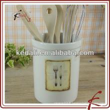 Porte-outils en céramique moderne avec design de couteau