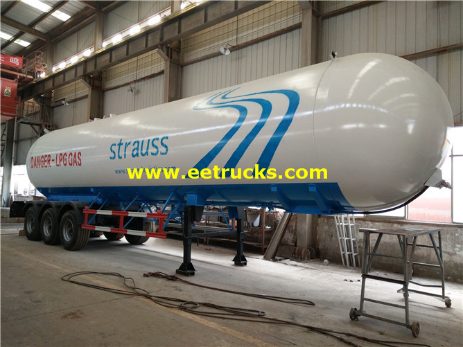 15000 Gallons LPG Delivery Tanker Trailers