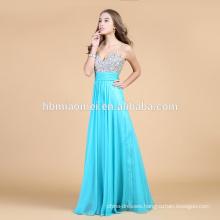 Cheap Charming Sexy Green Bead Evening Dress2015 Hot Sale Designer Eveing Gown 2016 prom dress evening