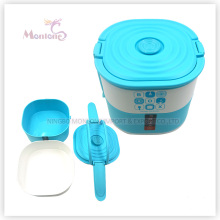 Food Storage Container Bento Plastic Lunch Box with Lock (1690ml)