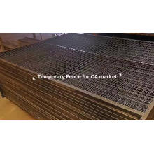 removable outdoor temporary construction fencing panels