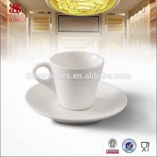 Производители чашки кофе фарфора, чашка кофе и блюдце устанавливает