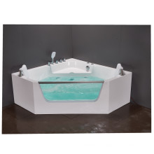 Aoclear Euro acrylic whirlpool and air jets bathtub parts with heater