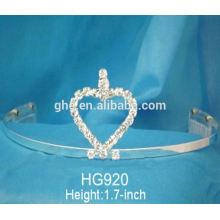 Razoável e aceitável fábrica de preços diretamente novo grande princesa clássica coroa de cristal tiara