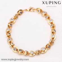 71727 Xuping Fashion Bracelet femme avec plaqué or