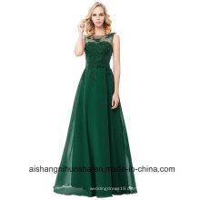 Elegante lange Abendkleider Chiffon Abendkleid Kleid