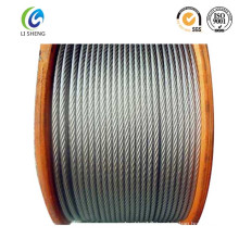 6*19 ungalvanized steel 20mm wire rope