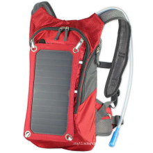 ECEEN hot selling waterproof ployester riding bag for outdoor sport photo sport solar charger backpack