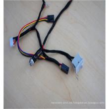 Cable de transmisión femenino del interruptor de enchufe de la aviación 4pin para el equipo eléctrico