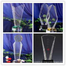 Presente relativo à promoção Companhia Celebração Prêmio Troféu Troféu de Cristal