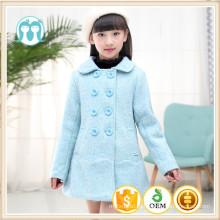 дети пальто новогодний голубой зимняя детская одежда новогодние куртки оптом высокое качество девушки мода одежда куртки 2017