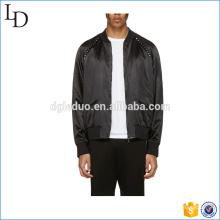 Zipper Design Cheap Faux Leather PU Leather Mens Jacket