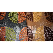 Ткань домашнего текстиля из жаккарда синель