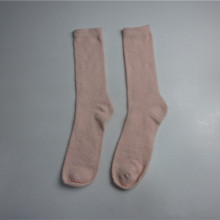 Pink Soft Touch Knit invierno calcetines al por mayor