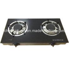 2 quemadores de vidrio templado Top 100 # quemador de aluminio cocina de gas / estufa de gas