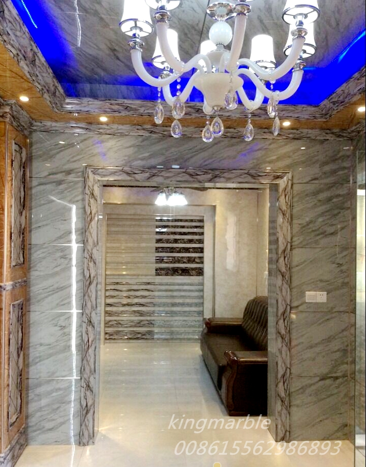 Hot sale PVC imitation marble wall panel