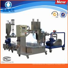 Máquina de rellenar líquida automática de dos cabezas para la resina / el solvente químico / los agentes de curado